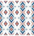 geometric pattern with scandinavian ethnic motifs vector image