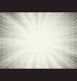 halftone sun vector image vector image
