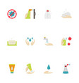 hygiene icon included icons as hand wash vector image vector image