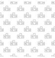 Pedestal pattern seamless vector image vector image