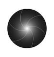 shutter camera gradient vector image vector image