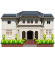 An old mansion vector image vector image