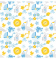 baboy seamless pattern vector image vector image