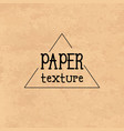 brown paper cardboard texture texture for design vector image