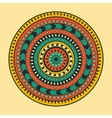 circle background with many details vector image