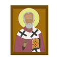 Saint Nicholas vector image vector image