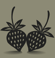 Stawberry Icon vector image vector image