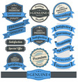 vintage badges and labels collection vector image vector image