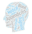 Appendicitis Surgery and Malpractice text vector image vector image
