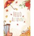 autumn invitation card