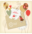 birthday card and scrapbooking elements