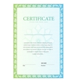 Certificate pattern currency and diplomas vector image