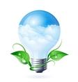 Green energy vector image vector image