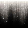 Silver Rain vector image vector image