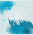 watercolor blue background vector image vector image