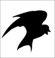 Bird Silhouette vector image vector image