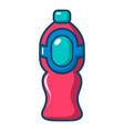 bottle juice icon cartoon style vector image vector image
