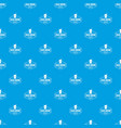 cold drink pattern seamless blue vector image vector image