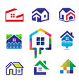 decoration building house construction vector image vector image