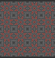 ethnic vintage abstract seamless geometric pattern vector image vector image