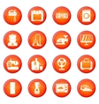 Household appliances icons set vector image