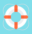lifebuoy color icon vector image vector image