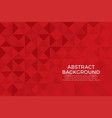 red color background abstract art vector image vector image