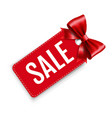 sale price tags isolated white background vector image vector image