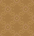 Seamless flowerr pattern vector image vector image