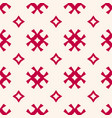 seamless pattern traditional scandinavian motif vector image vector image