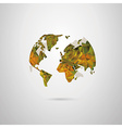 The Earth vector image vector image