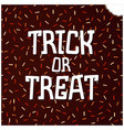 trick or treat vector image vector image