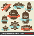 Vintage Premium Quality vector image vector image