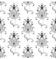 repeat seamless pattern persian floral motifs vector image vector image