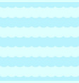 seamless background of water waves vector image vector image
