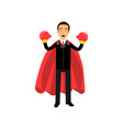 successful young man in formal business attire vector image