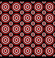 abstract seamless pattern - circle design vector image vector image