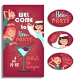 Bachelorette party Women vector image vector image