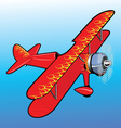 propeller airplane toy vector image vector image