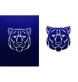 Vintage tiger label Retro design graphic vector image vector image