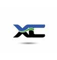 XC logo vector image