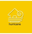 Natural Disaster Icon vector image