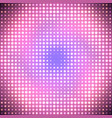 abstract disco pink background vector image vector image