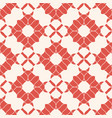 abstract vintage floral seamless red pattern vector image vector image