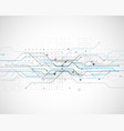 circuit network diagram technology background vector image vector image