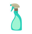 cleaning spray bottle isolated on white vector image vector image