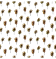 Cute seamless hand drawn pattern vector image vector image