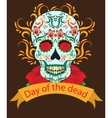 Day of the Dead a Mexican festival vector image vector image
