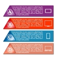 Elements of infographics vector image vector image