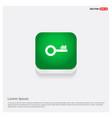 key icon green web button vector image